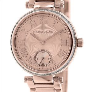 Michael Kors Skylar Rose Gold Women's Watch